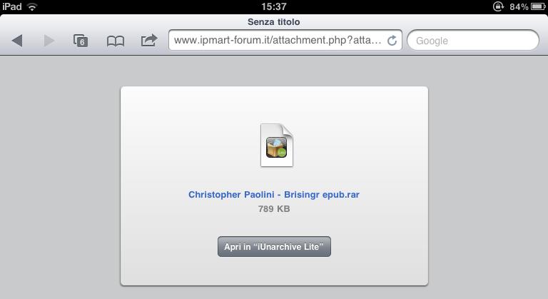 Come avere migliaia di eBook direttamente su iPad (6/6)